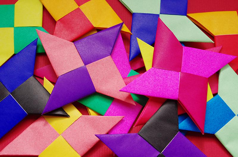 折り紙 遊べる おもちゃ 簡単