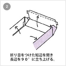 組立式(フタ・身一体式)手順2
