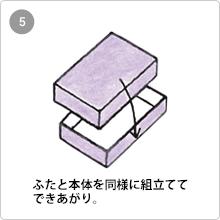 組立式(フタ・身一体式)手順5