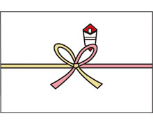 花結び(真締め)のし紙