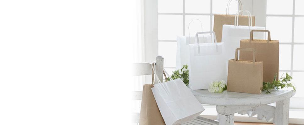 シモジマオンラインショップの紙袋