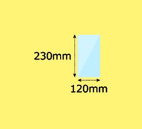 幅120×高230mm