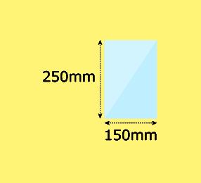 幅150×高250mm