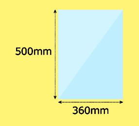 幅360×高500mm