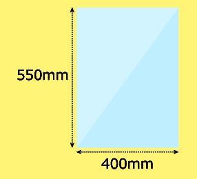幅400×高550mm
