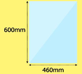 幅460×高600mm