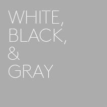 白・黒・グレー