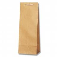 HEIKO 紙袋 T型チャームバッグ B-2 未晒無地 25枚