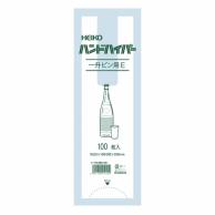 HEIKO レジ袋 ハンドハイパー 1升瓶用 E 100枚